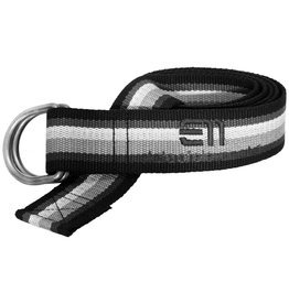 Elevenate Striped Belt Black