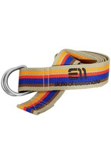 Elevenate Striped Belt Deep Cobalt