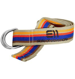 Elevenate Striped Belt Deep Cobalt