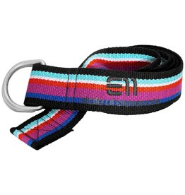 Elevenate Striped Belt Purple Wine