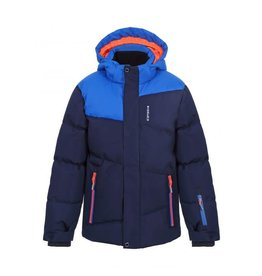 Icepeak Linton Junior Ski Jacket Navy Blue