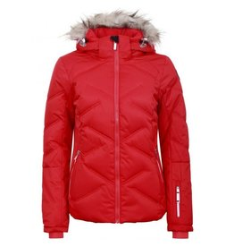 Icepeak Women's Elsah Ski Jacket Coral Red