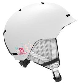 Salomon Grom Junior Helmet White