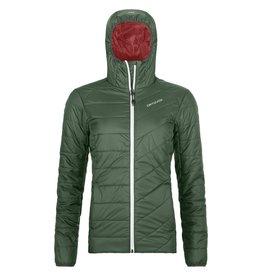 Ortovox Swisswool Piz Bernina Jacket W Green Forest