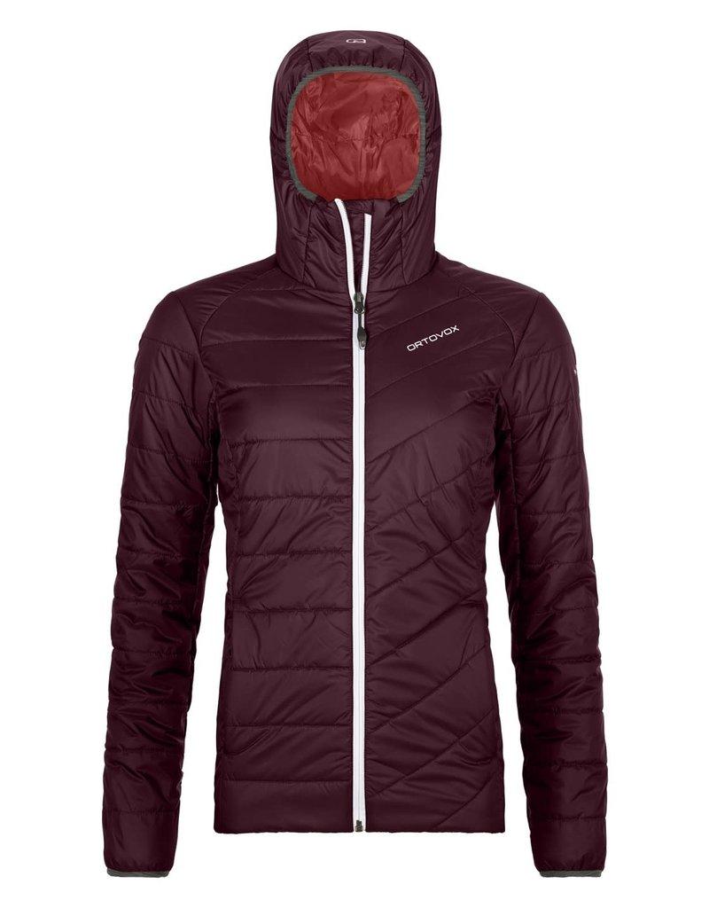 Ortovox Swisswool Piz Bernina Jacket W Dark Wine