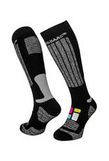 Poederbaas SS001 - Ski sokken senior 2-Pack Black