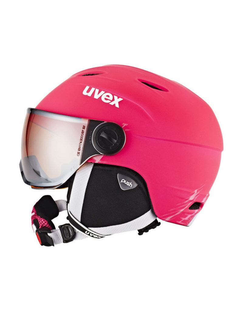Uvex Junior Visor Pro Pink Mat