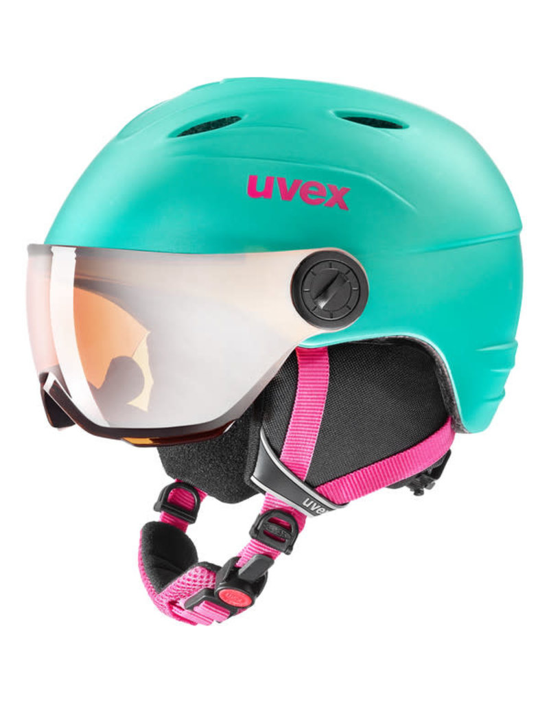 Uvex Junior Visor Pro Mint Mat