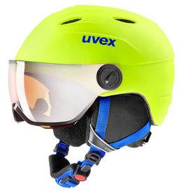 Uvex Junior Visor Pro Neon Yellow Mat
