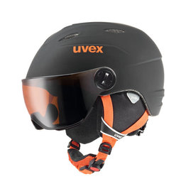 Uvex Junior Visor Pro Black Orange Mat