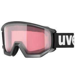 Uvex Athletic V S2-3 Skibril Black Mat