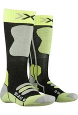 X-Socks Ski Junior 4.0 Sokken Anthracite Green