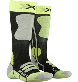 X-Socks Ski Junior 4.0 Sokken Anthracite Green