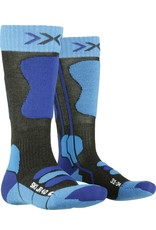 X-Socks Ski Junior 4.0 Sokken Anthracite Blue