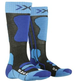 X-Socks Ski Junior 4.0 Sokken Anthracite Blue