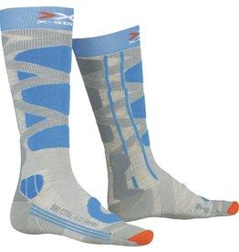 X-Socks Ski Control 4.0 Dames Sokken Grey Turquoise