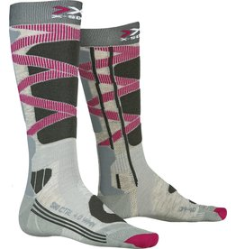 X-Socks Ski Control 4.0 Dames Sokken Grey Charcoal