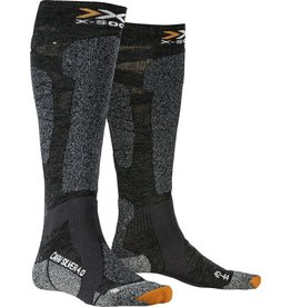 X-Socks Carve Silver 4.0 Anthracite Black