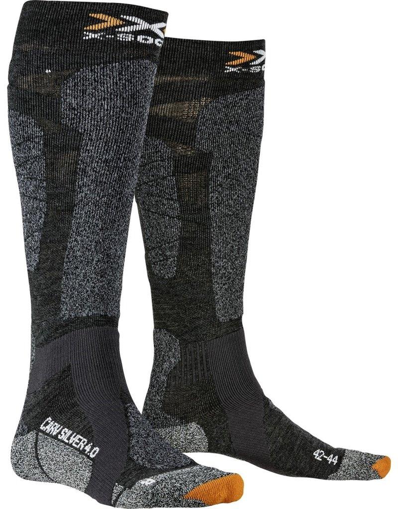 X-Socks Carve Silver 4.0 Anthracite Black