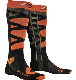 X-Socks Ski Control 4.0 Anthracite Orange