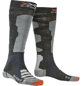 X-Socks Ski Silk Merino 4.0 Anthracite Grey
