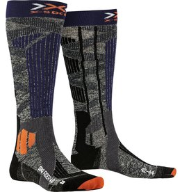 X-Socks Ski Rider 4.0 Grey Blue