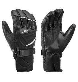 Leki Griffin S Gloves Black White