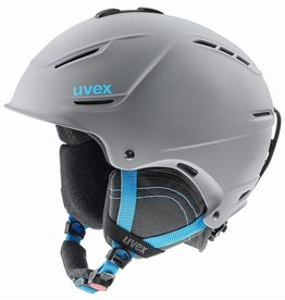 Uvex P1us 2.0 Helm Grey Blue Mat
