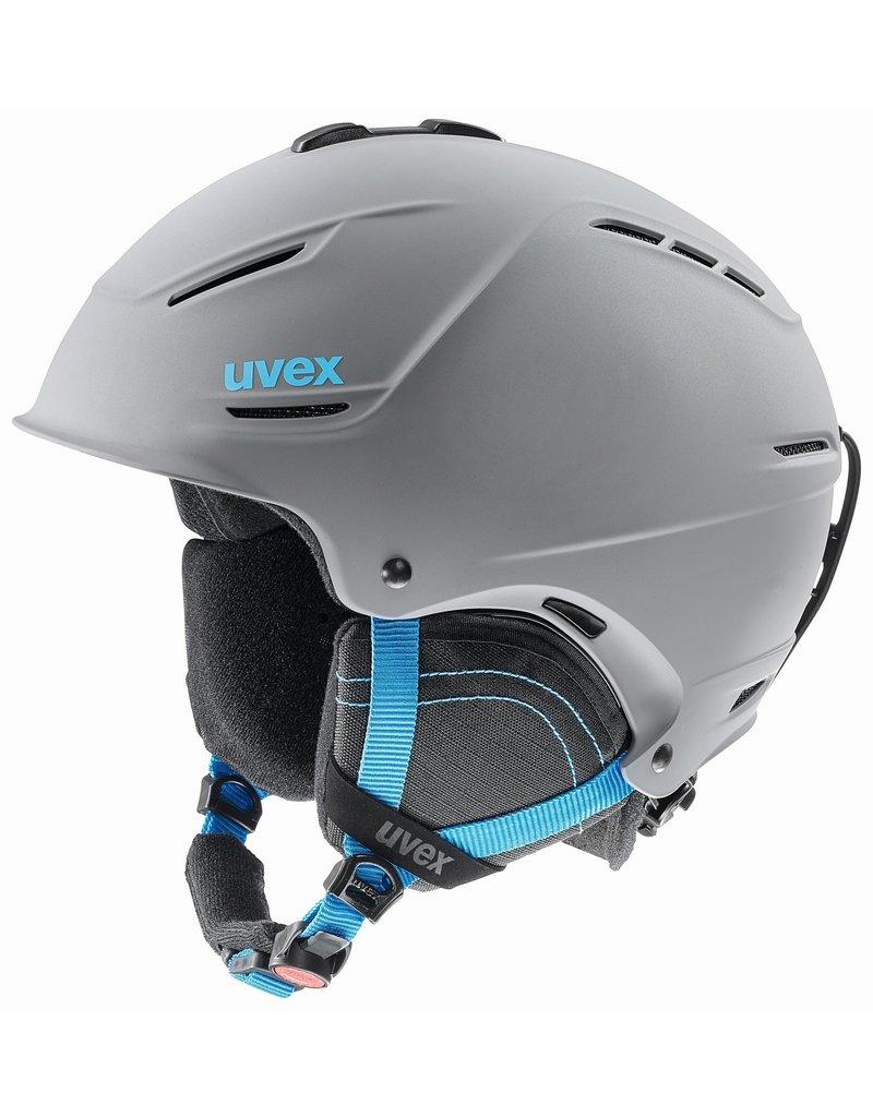 Uvex P1us 2.0 Helmet Grey Blue Mat