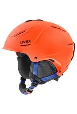 Uvex P1us 2.0 Helm Orange Blue Mat