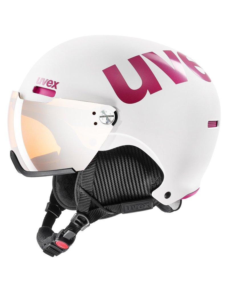 Uvex Hlmt 500 Visor White Pink Mat