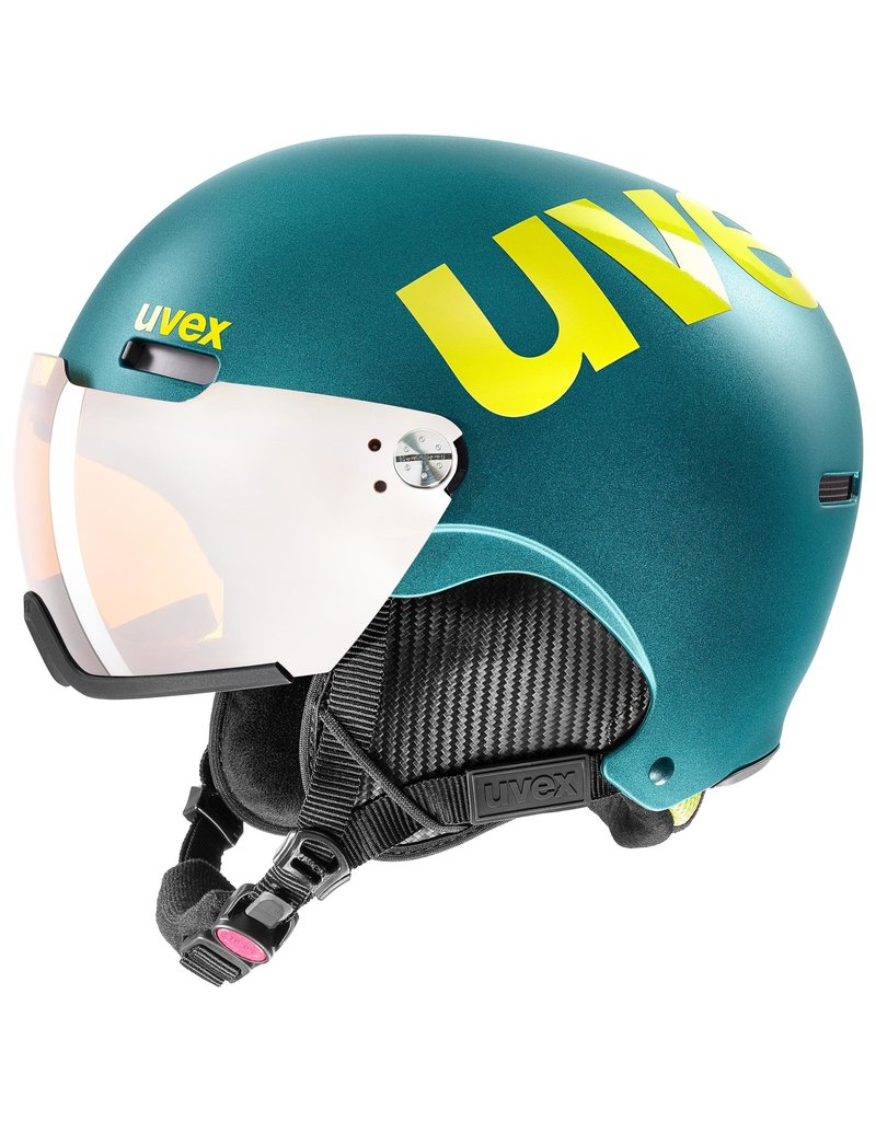Uvex Hlmt 500 Visor Deep Emerald Mat
