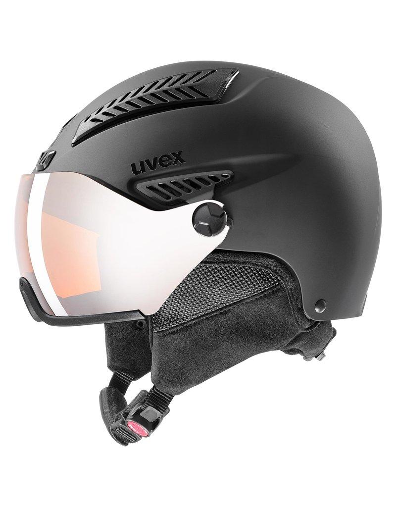Uvex Hlmt 600 Visor Black Mat