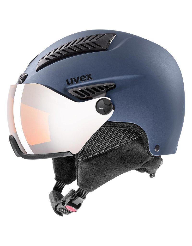 Uvex Hlmt 600 Visor Blue Mat