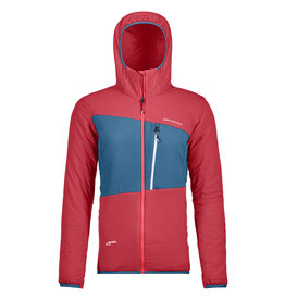 Ortovox Swisswool Zebru Jacket W Hot Coral
