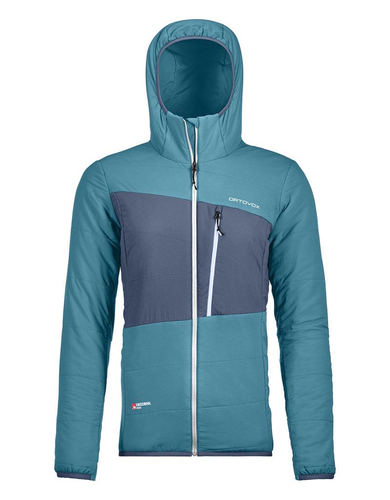 Ortovox Swisswool Zebru Jacket W Aqua
