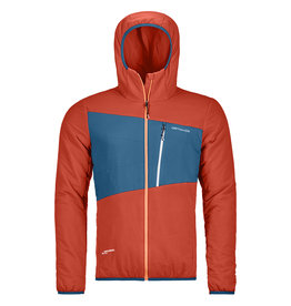 Ortovox Swisswool Zebru Jacket M Crazy Orange