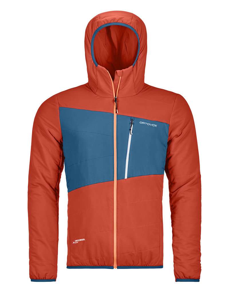 Ortovox Swisswool Zebru Jacket M Crazy Orange