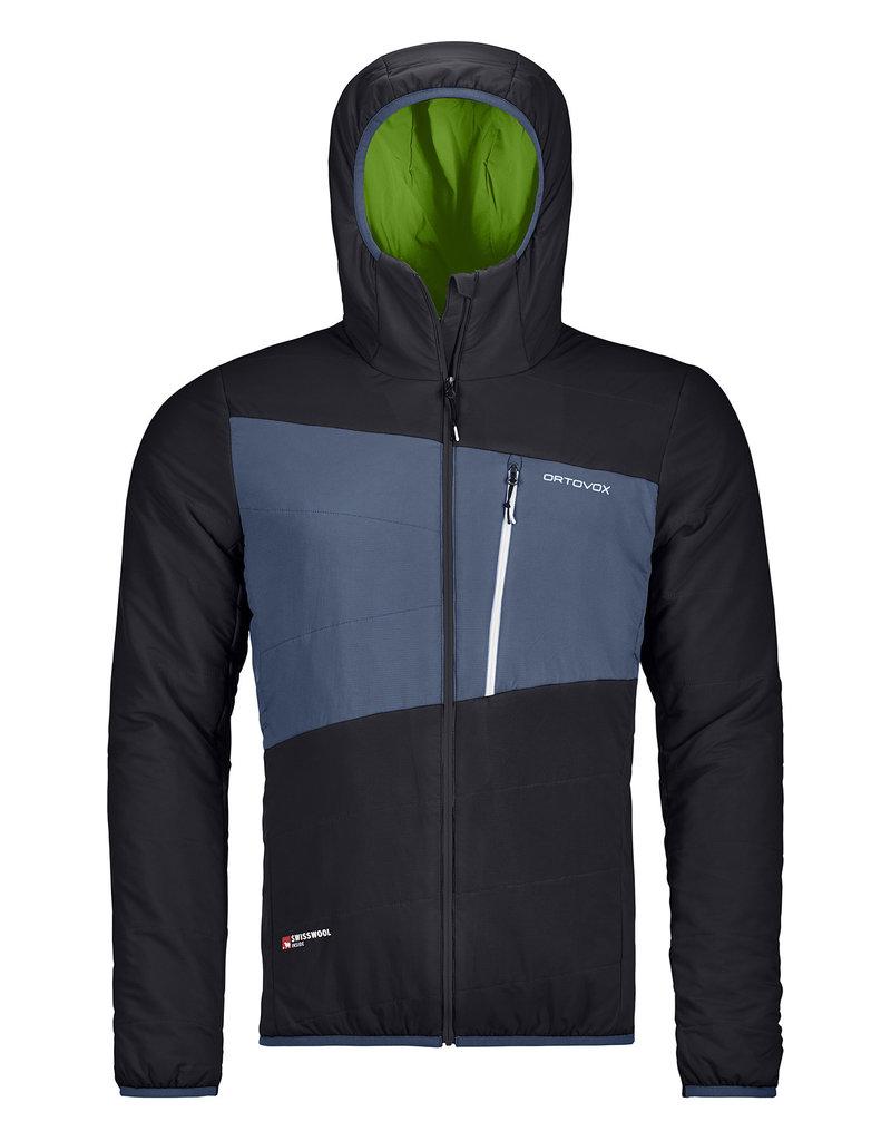 Ortovox Swisswool Zebru Jacket M Black Raven