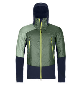 Ortovox Swisswool Piz Palu Jacket M Green Forest