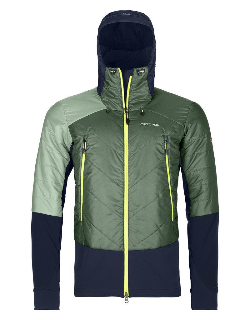 Ortovox Swisswool Piz Palu Jacket M Green Forest