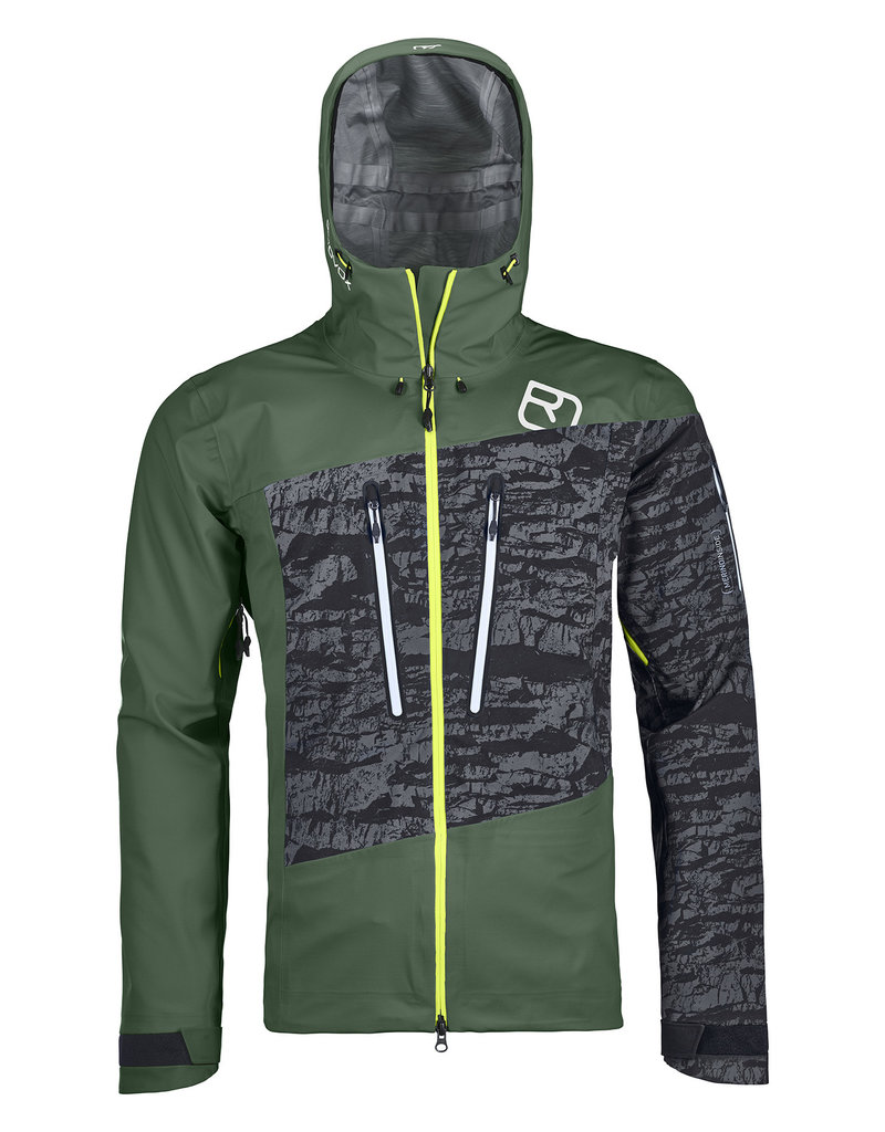 Ortovox 3L Guardian Shell Jacket M Green Forest