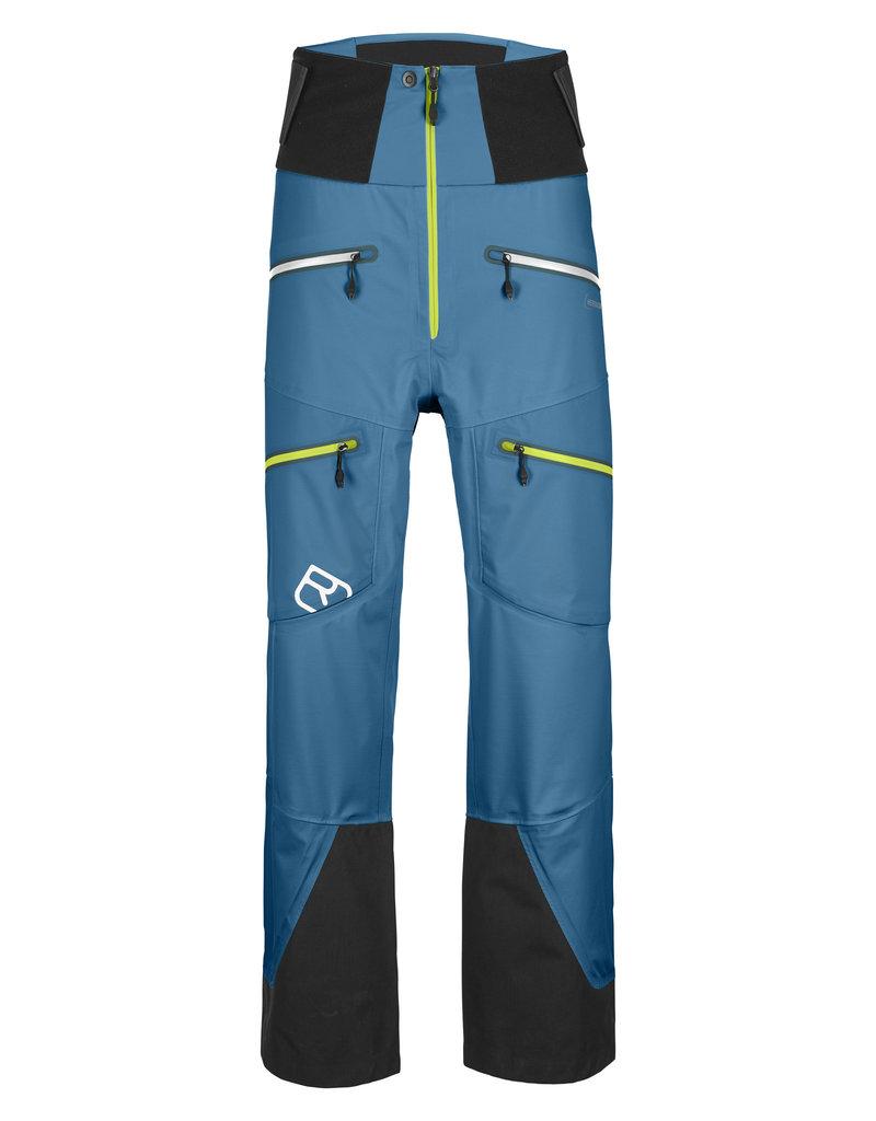 Ortovox 3L Guardian Shell Pants M Blue Sea