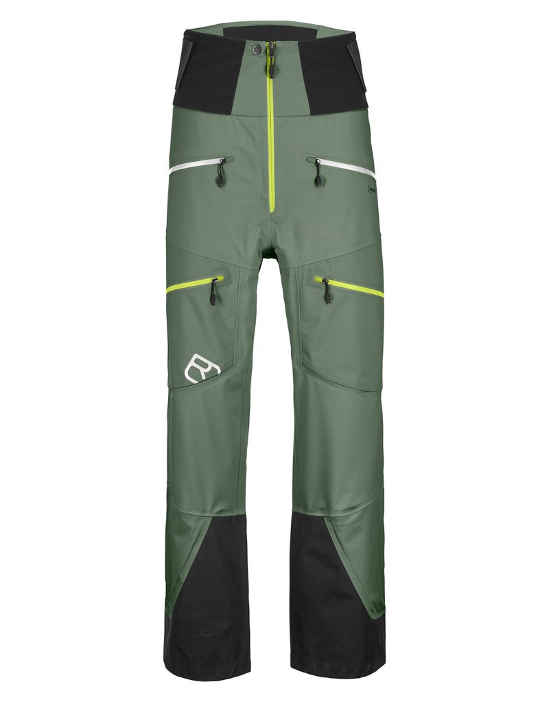 Ortovox 3L Guardian Shell Pants M Green Forest