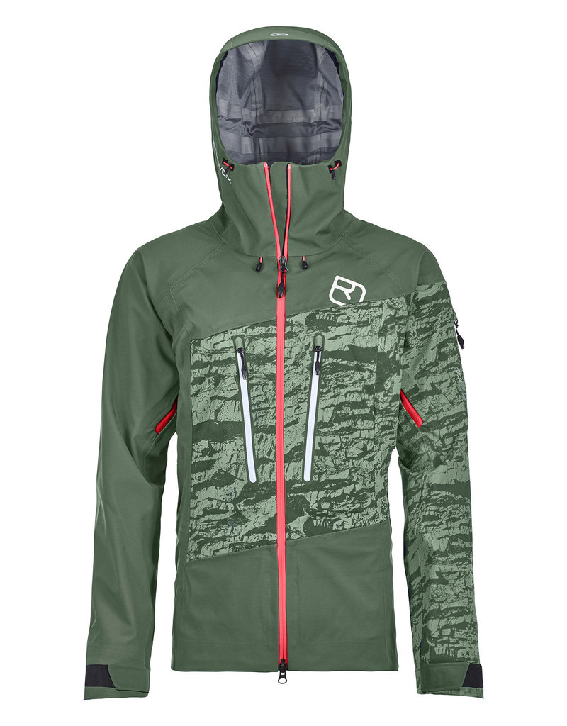 Ortovox 3L Guardian Shell Jacket W Green Forest