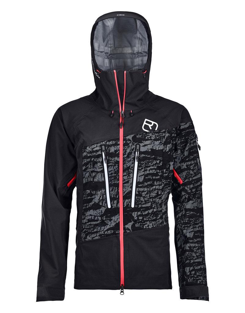 Ortovox 3L Guardian Shell Jacket W Black Raven