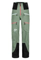Ortovox 3L Guardian Shell Pants W Green Isar