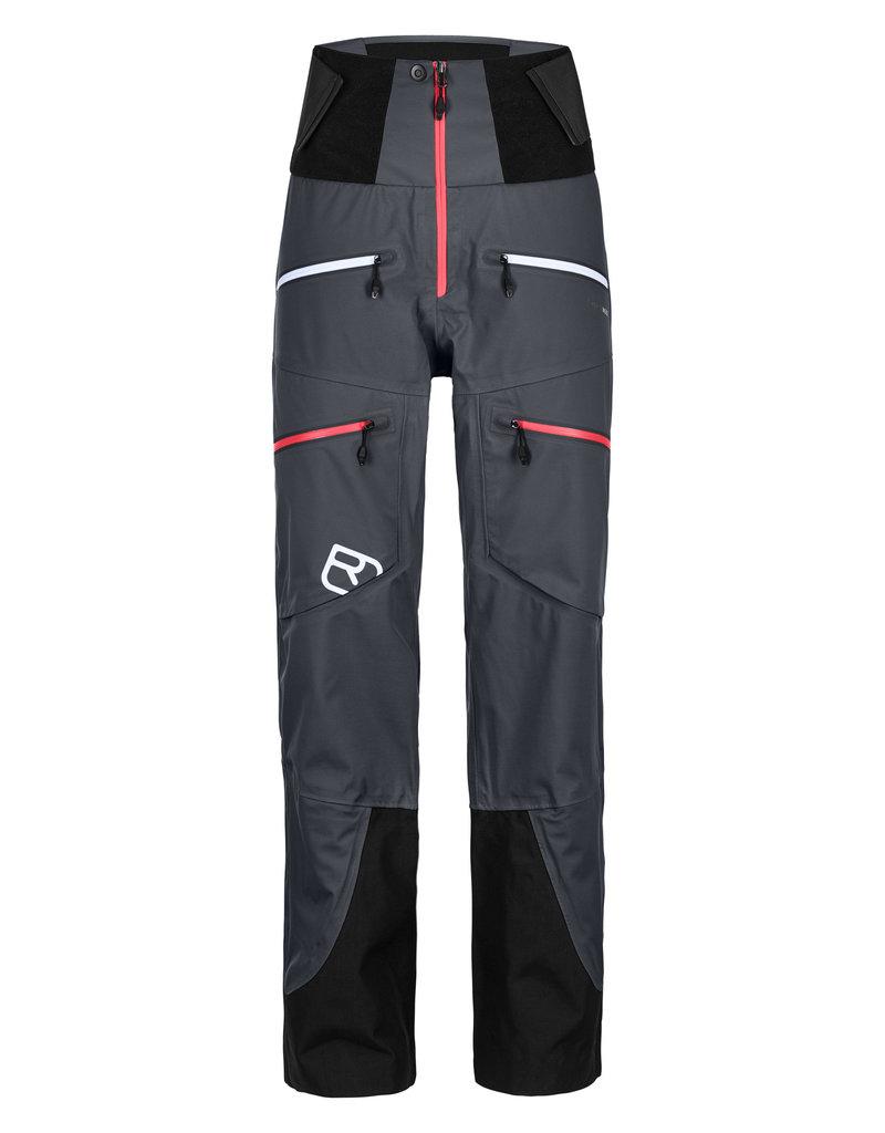 Ortovox 3L Guardian Shell Pants W Black Steel