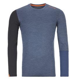 Ortovox 185 RockNWool Long Sleeve M Night Blue Blend
