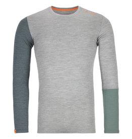 Ortovox 185 RockNWool Long Sleeve M Grey Blend